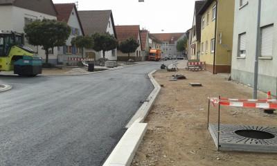 Bauarbeiten Heidelberger Straße